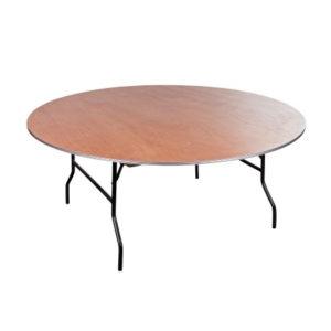 Banketttisch rund 180cm mieten