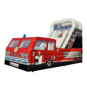Riesenrutsche Feuerwehr mieten